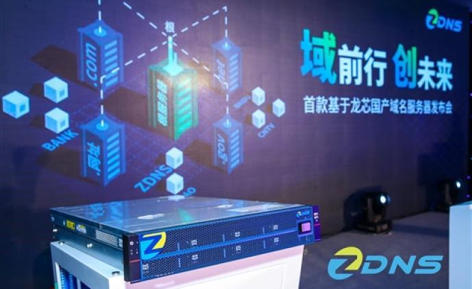 首款基于龙芯芯片的国产域名服务器发布,软硬件均实现国产化