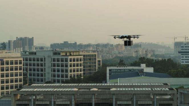 空客与极飞科技联合研发物流无人机,在广州成功试飞